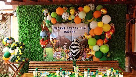 Арка от балони и украси за детски рожденни дни, кръщенки,абитуриентски