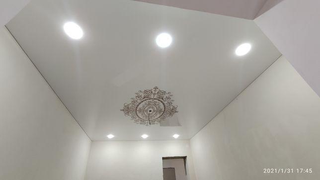 Натяжнои потолок1200 ₸ м2 натяжные потолки