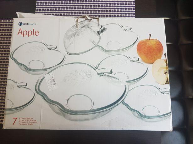 Set 7 boluri in forma Apple