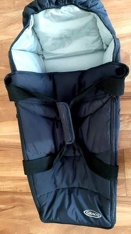 Кош за бебе GRACO с дръжки и сенник за количка
