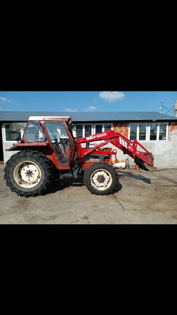 Fiat 60-90.Tractor fiat 60-90.Tractor cu încărcător.Tractor 4x4