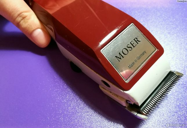 Лучшая машинка для стрижки Moser 1400. Бритва. Тример для волос.