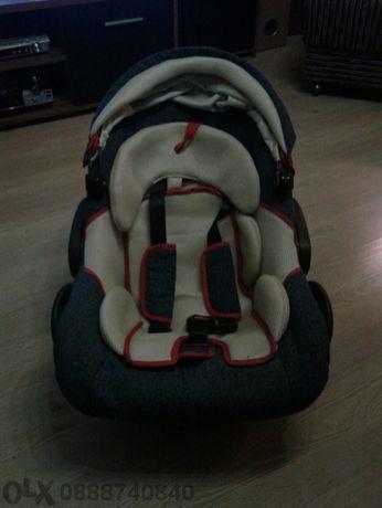 Детцко столче за кола и кошница