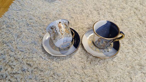 Чаши за кафе 2 бр с мотиви на Versace