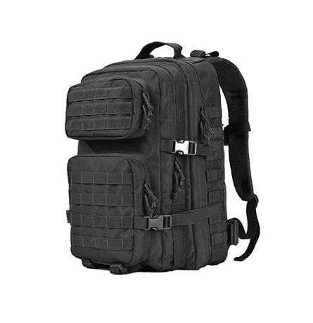 Rucsac militar, negru, 45L, 600D polyester
