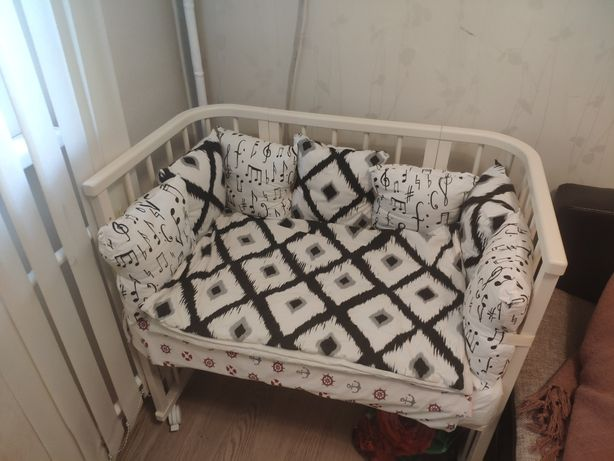 Манеж кроватка 5 в 1