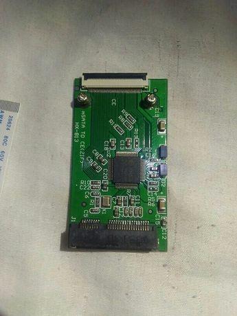 Продавам адаптор за  диск mSATA to CE ZIF mini SATA to ZIF 40pin