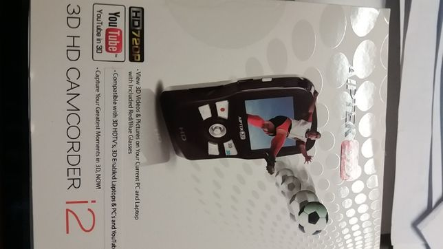 Camera foto - video cu display 6 cm 2D-3D