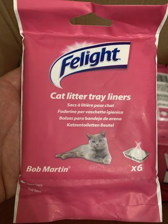 Saci plastic reciclabil litiera pisici
