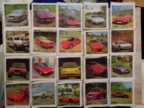 картинки от дъвки Bombibom 1-60