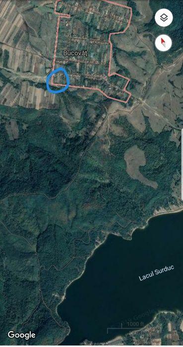 Vand teren Bucovat zona Surduc Surducu Mic - imagine 1