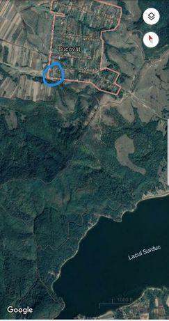 Vand teren Bucovat zona Surduc