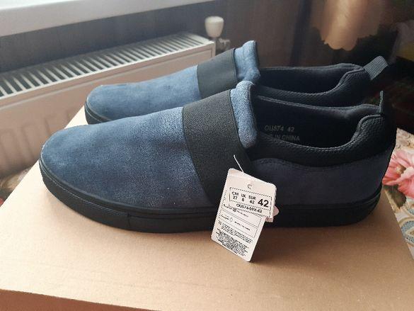 THOMAS BLAKE N42 нови обувки/кецове/ боти от45лв