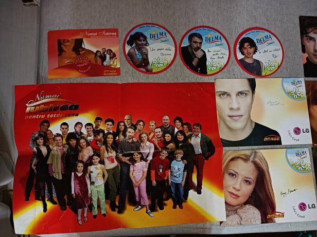 Postere Minipostere Actori Numai iubirea ,Secretul Mariei Delma