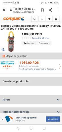 Vând clapmetru nou produs în Germania