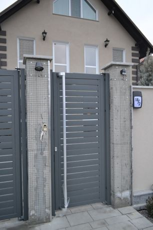 Gard Profilat Orizontal Zincat 3D