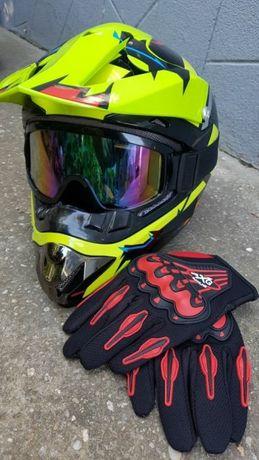 Casca motocross, enduro, atv,bike, dawnhill, trotineta