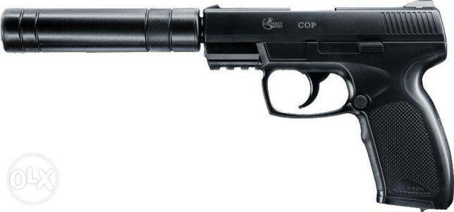 Pistol cu amortizor Combat Zone CO2 1AN garantie