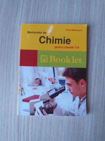 Memorator de chimie pentru clasele 7-8