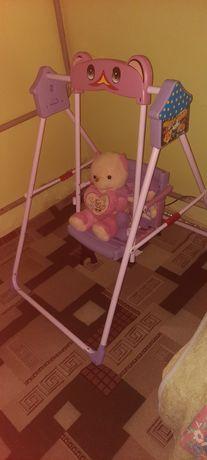 Детский качеля,коляска