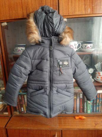 Зимняя куртка мальчик 4 5 6