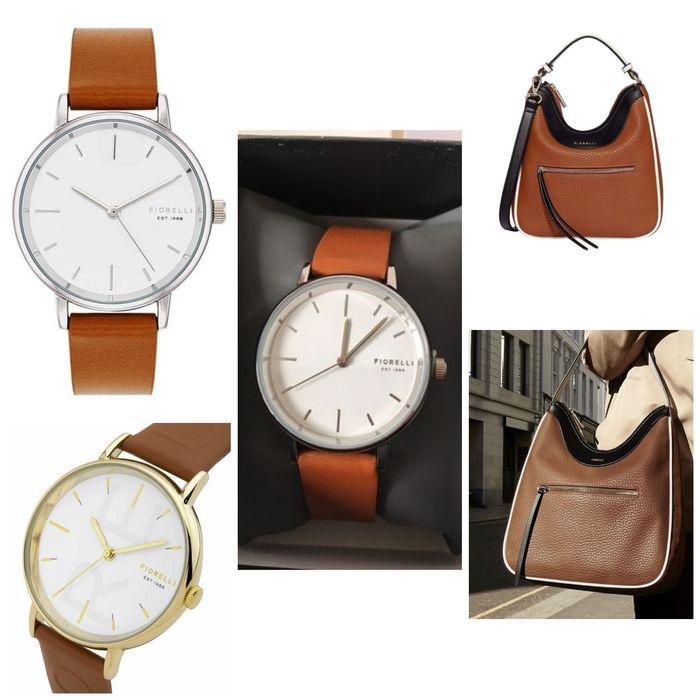 Set format din geanta de umăr si ceas Fiorelli Bistrita - imagine 1
