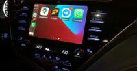 CarPlay и Android Auto в твоей Toyota Camry70