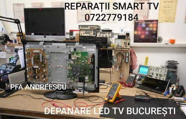 Reparatii televizoare tehnologie smart Bucuresti