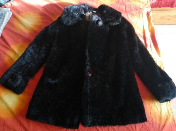 Палто от визон