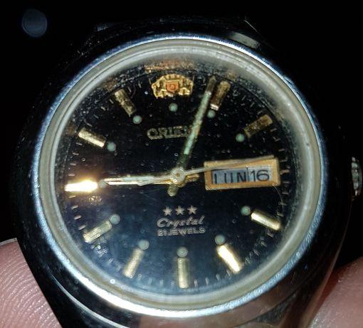 Ceas dama Orient Crystal automat 21 rubine original Japan