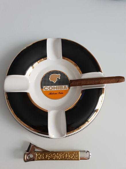 Луксозен пепелник Cohiba