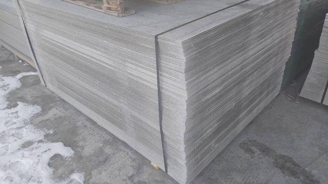 Асбестоцементный лист плоский 8мм, шифер плоский