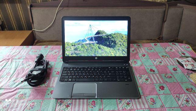HP Probook 650 g1. Core i5 4210m. Новая батарея, мощный.
