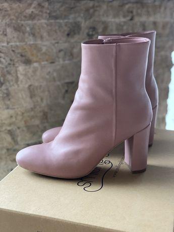 Botine Smiling Shoes roz pudrat noi nr 39