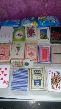 Vând cărți de joc ani 60