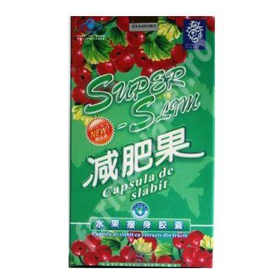 SuperSlim capsula de slăbit, 30 capsule, China - Produs 100% natural