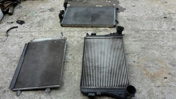 Интеркулер/радиатори Пасат 6 1.9тди 105кс. - VW Passat B6 1.9TDI 105hp