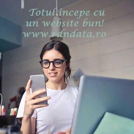 Creare site prezentare - Magazin online - Mentenanță IT- SEO - Hosting