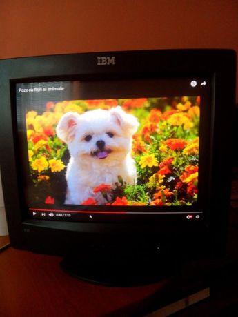 "monitor ""IBM"" pentru calculator"