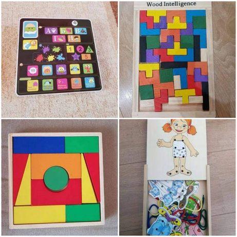 Дървени и пластмасови играчки