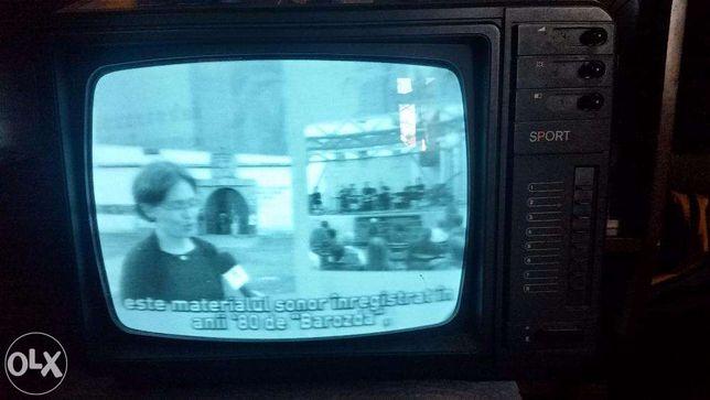 Televizor alb negru vechi functional