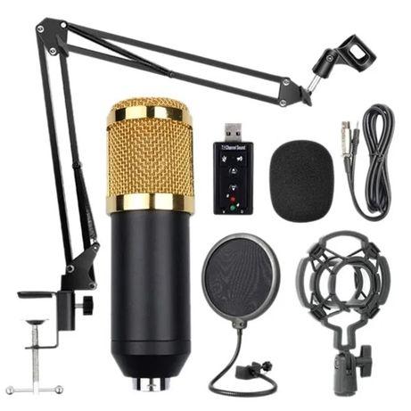 Студийный Конденсаторный Микрофон BM800 Полный Комплект. Акция!!!