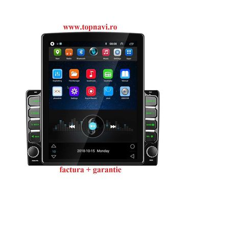 Navigatie android 9.7 inch universala tip tesla vw dacia renault audi