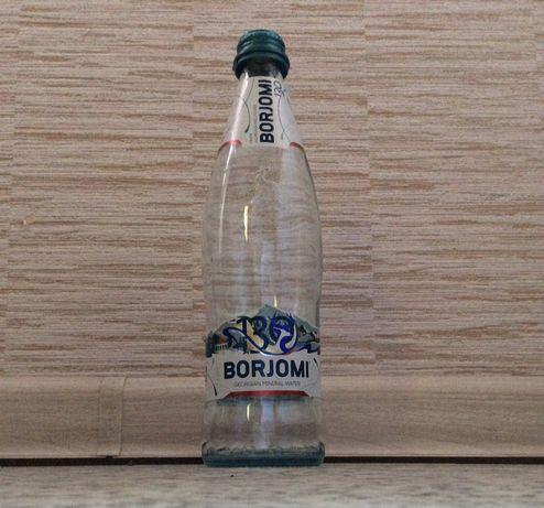 Стеклянная бутылка из под Борджоми