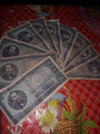 Bancnote Nicolae Bălcescu 100 lei 1966