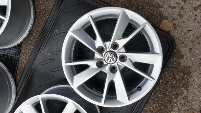 Jante VW 5x112 pe 16 impecabile compatibile audi vw skoda seat mercede