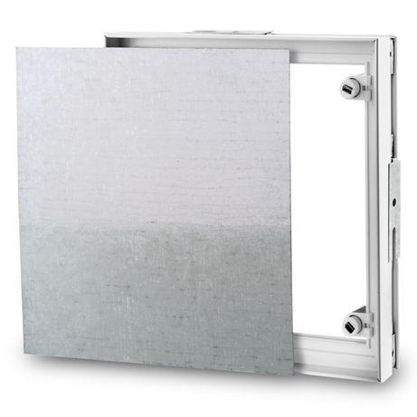 Vand Usa de vizitare metalica cu magnet 300x450
