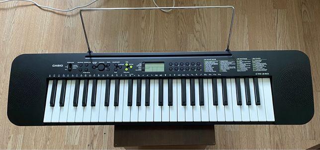 Новый синтезатор casio