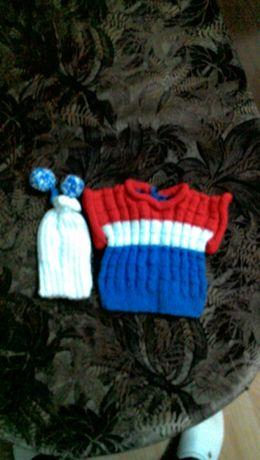 Бебешки дрехи ръчно изплетени