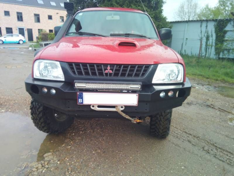 Bara protectie fata OFF ROAD Mitsubishi L200 III 96-05 Deva - imagine 1